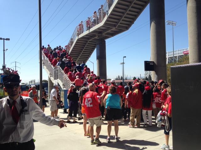 Fans at Levi's Stadium