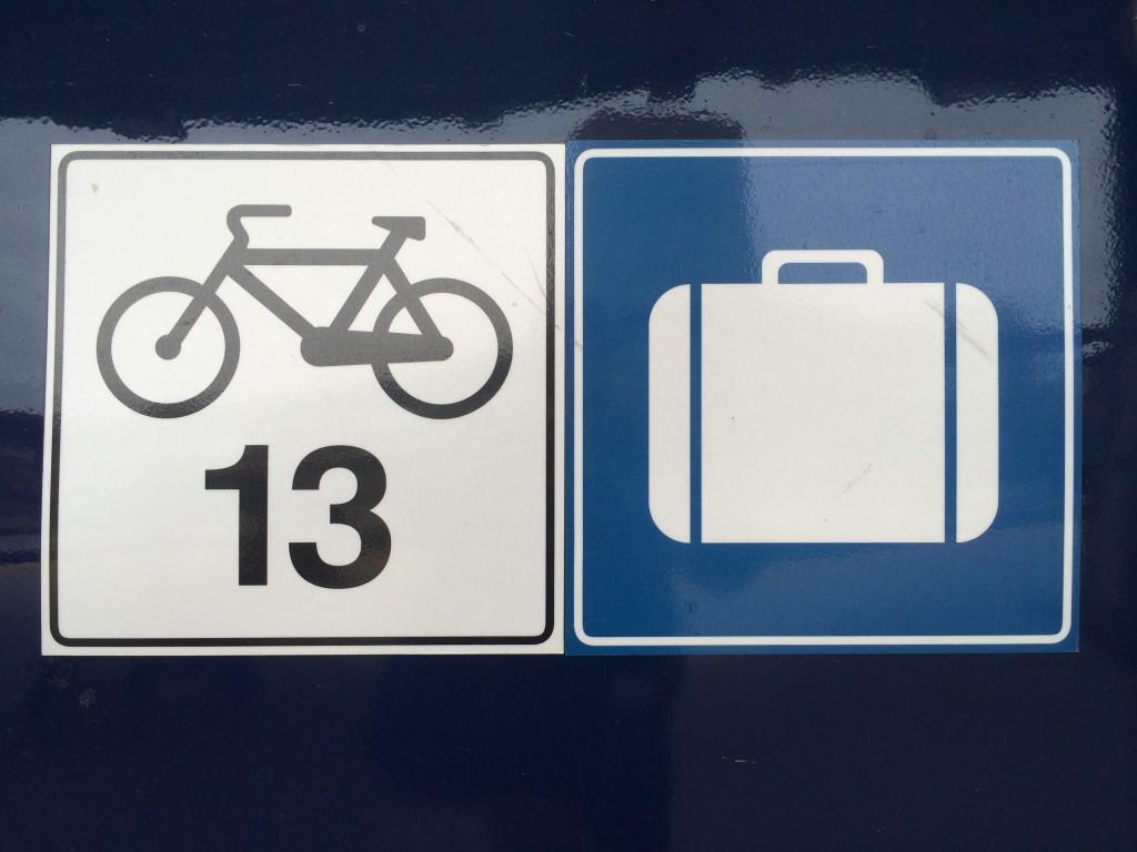 Bike car sticker