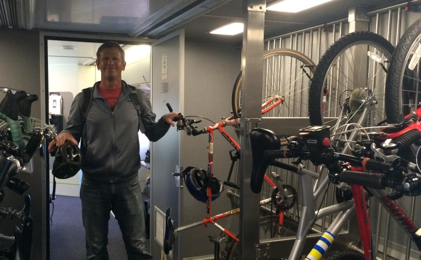 RIDER TIPS: Taking Your Bike on the Train for the First Time