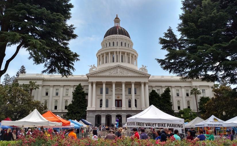 Capitol Corridor Celebrates Bike Month
