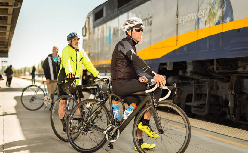 Capitol Corridor Celebrates Bike to Work Day 2016