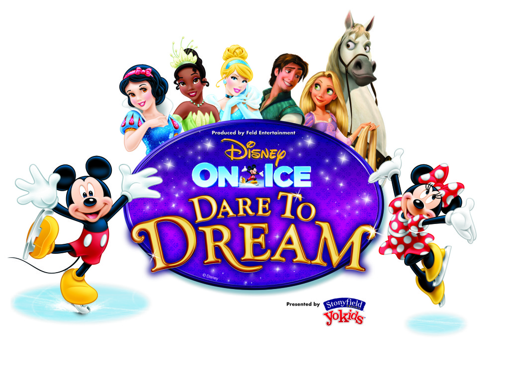 Disney on Ice Character Logo