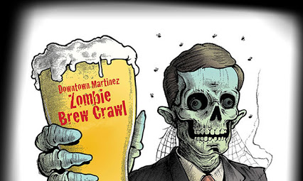 Martinez zombie brewcrawl