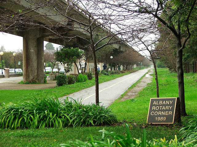 Ohlone Greenway Bicycle Path