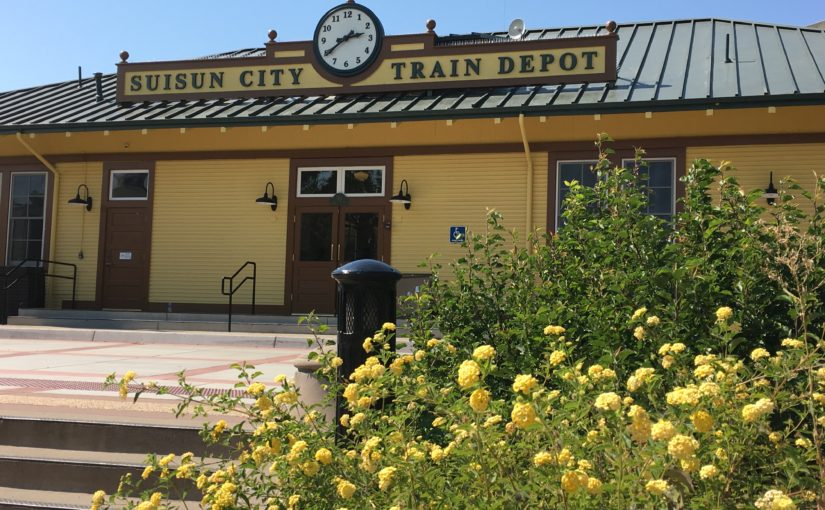 Renovation of Suisun City Train Depot Celebrated with Ribbon Cutting on September 8