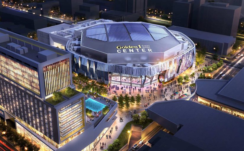 Capitol Corridor's Service to Golden 1 Center in Sacramento