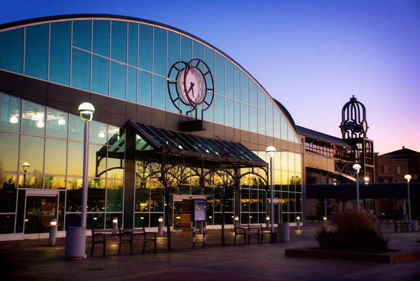 Oakland Jack London Square Amtrak Station
