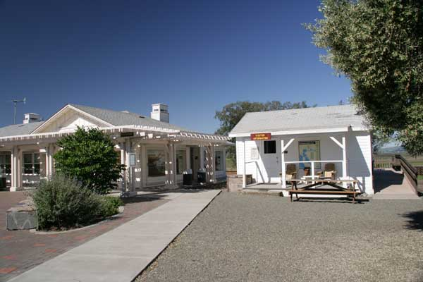 The office and education center at Rush Ranch.