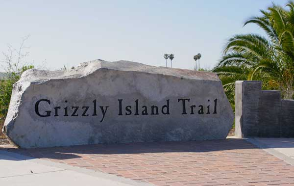 Granite rock for Grizzly Island Trail