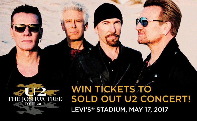 Win Two Tickets to U2 Joshua Tree Concert at Levi's Stadium