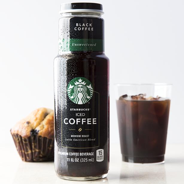 Starbucks Unsweetened Black Iced Coffee