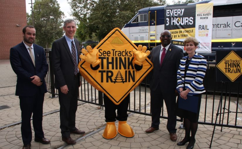 Capitol Corridor Helps Kick Off California Rail Safety Month