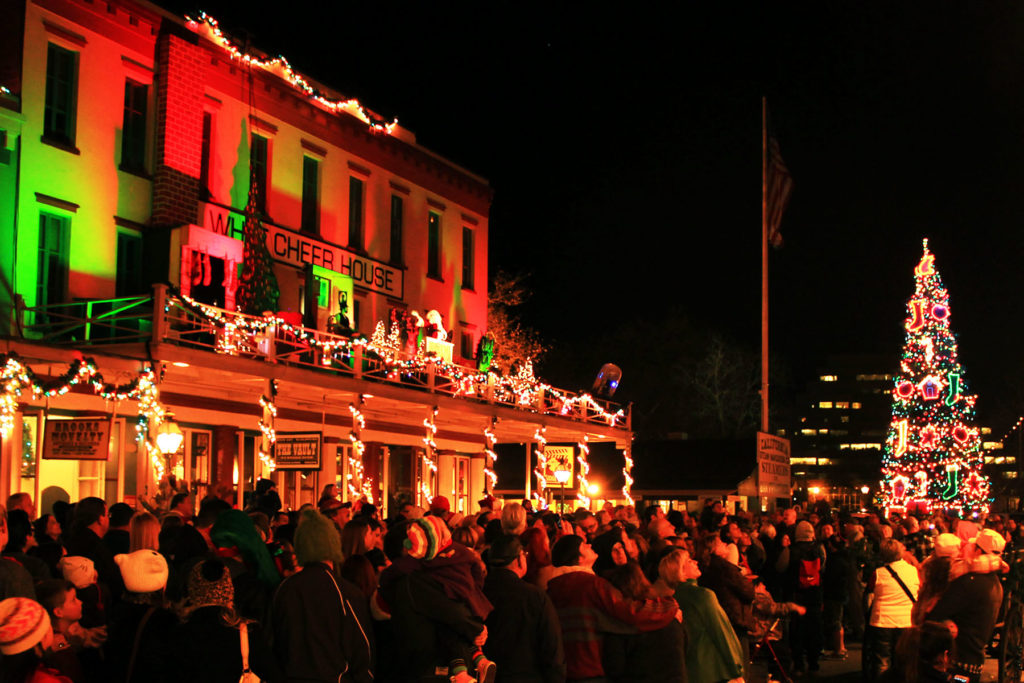 December Picks San Francisco Dickens Fair Snow Day In