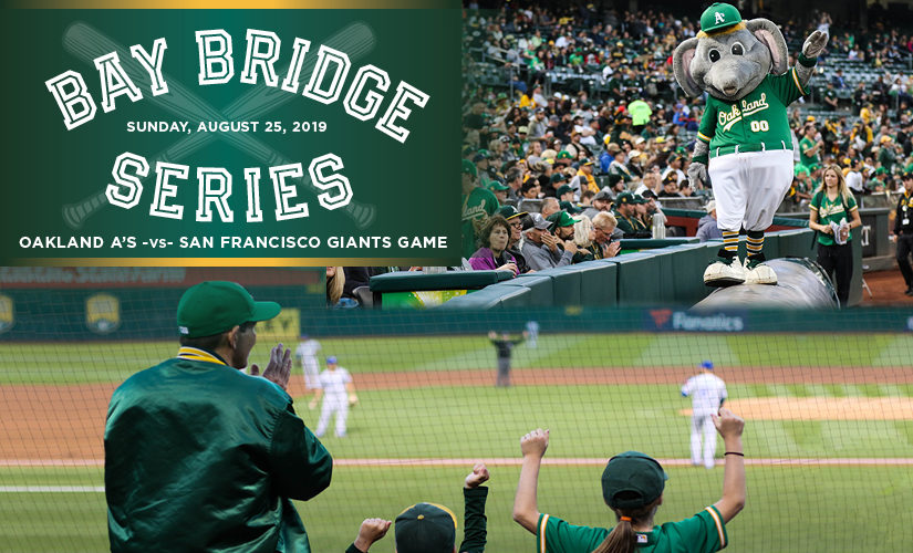 Win a VIP Prize Package to the Bay Bridge Series on August 25!