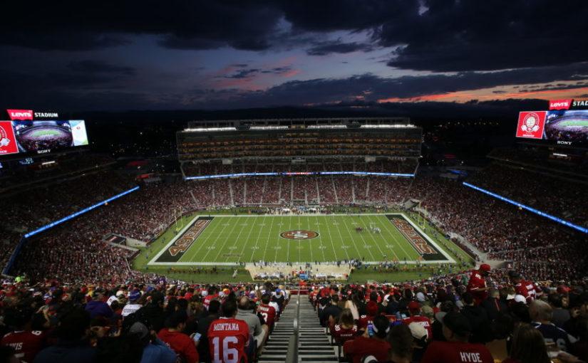 The San Francisco 49ers vs Minnesota Vikings.