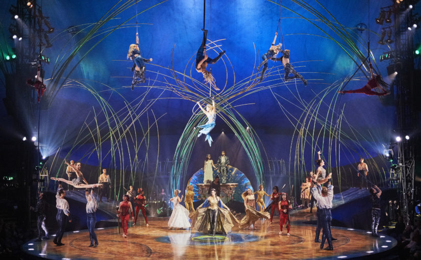Win Four Tickets to Watch Cirque Du Soleil AmaLuna