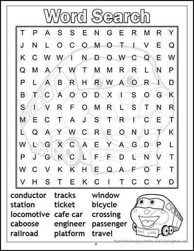 Kids Coloring - Word Search