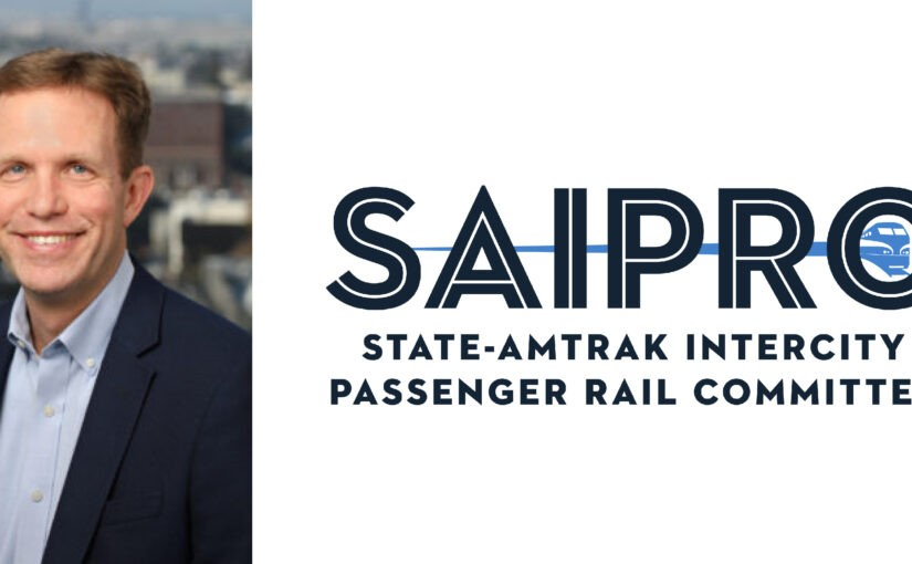 Rob Padgette Elected Chair of the State-Amtrak Intercity Passenger Rail Committee