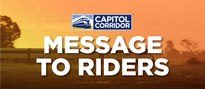 New Year's Message to Riders 2021