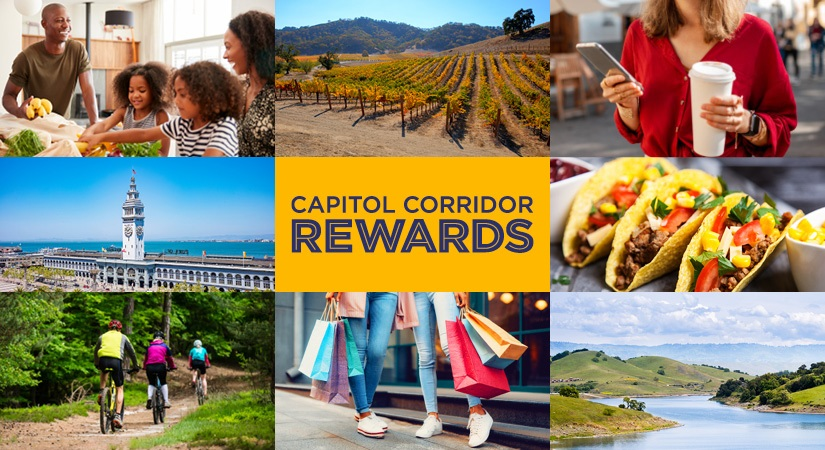 Capitol Corridor Launches Local Rewards Program