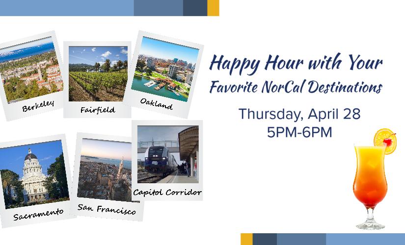 Corridor Conversations: Happy Hour with Your Favorite Nor Cal Destinations