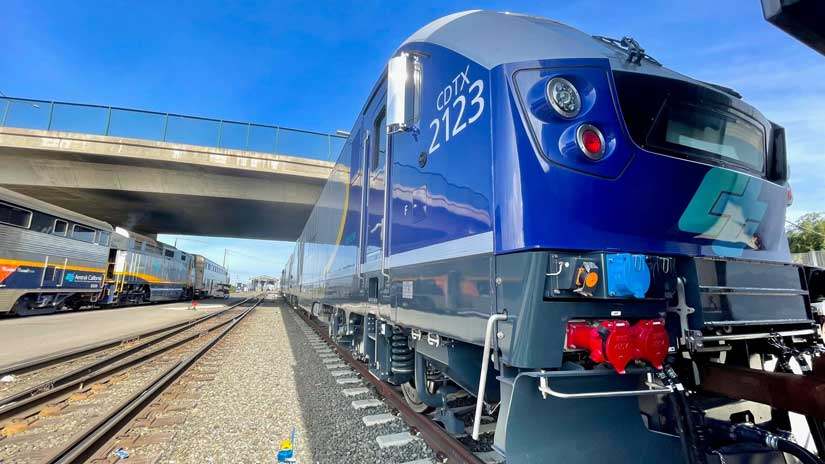Capitol Corridor Expands its Cleaner Fleet in Time for Earth Day