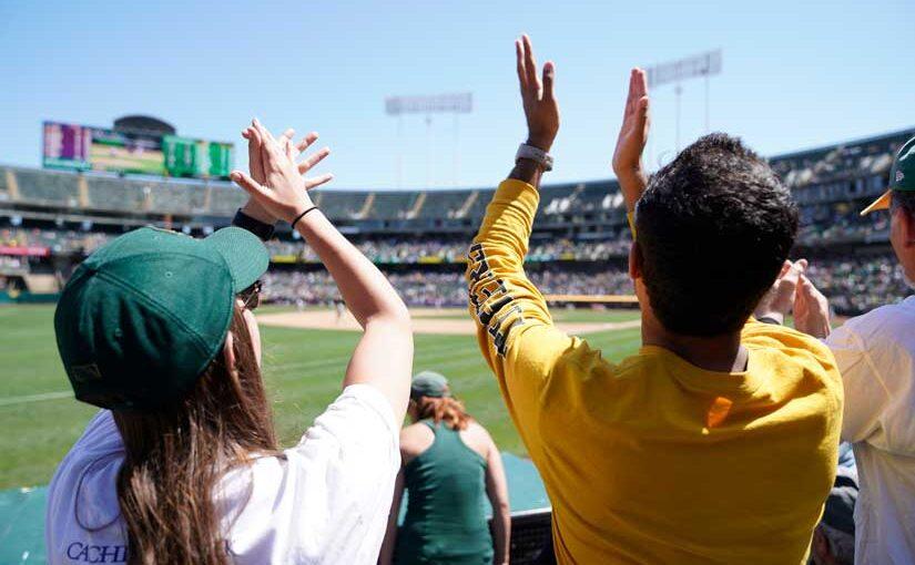 Take Me Out to the Ballgame! Capitol Corridor Service to Oakland A's Baseball