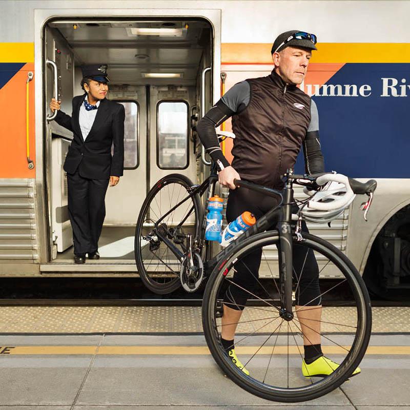 Bikes on Capitol Corridor