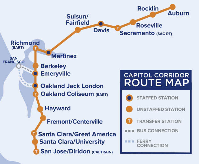 Image of the route map