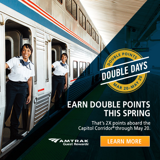 Amtrak Double Take