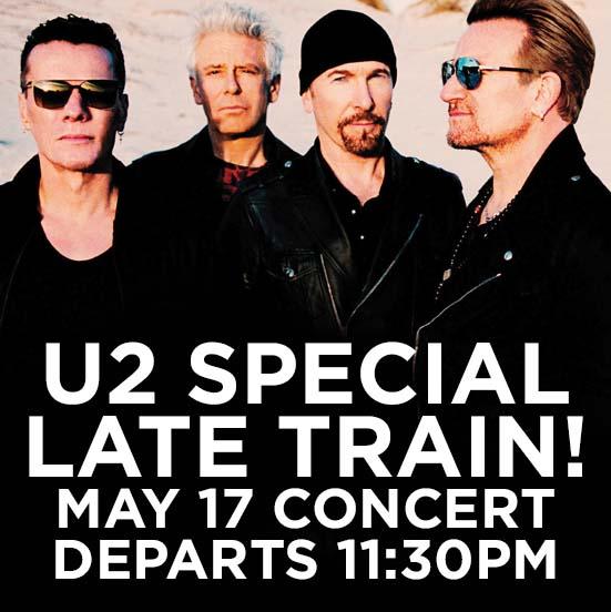 U2 Concert Special Late Train