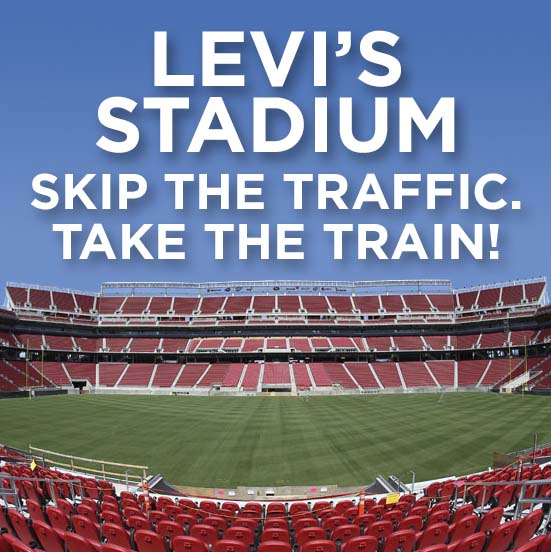 Take the Train to Levis Stadium