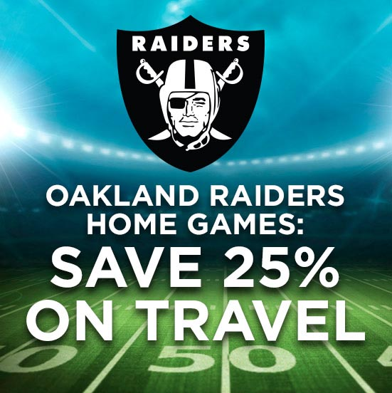 Save on Oakland Raiders