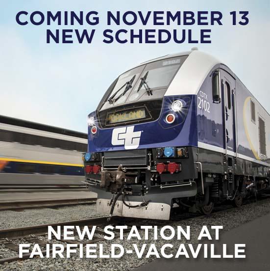 Fairfield Vacaville station