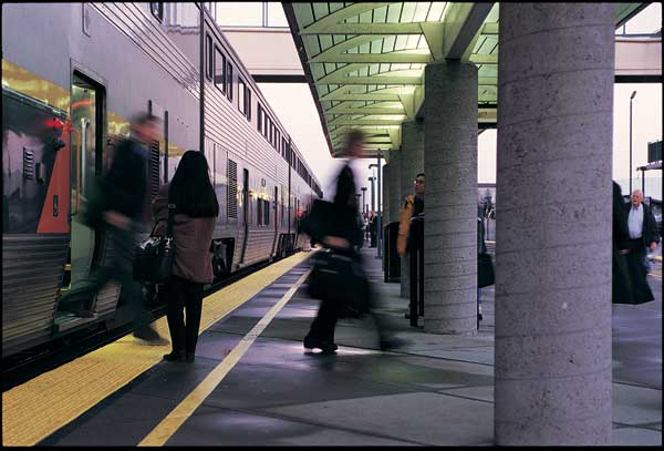 Emeryville Capitol Corridor Station